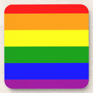 Gay Pride Beverage Coasters