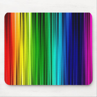 Gay Pride Curtain Mouse Pad