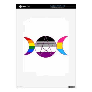 Gay Pride Demi Pan Goddess Symbol iPad 2 Skins