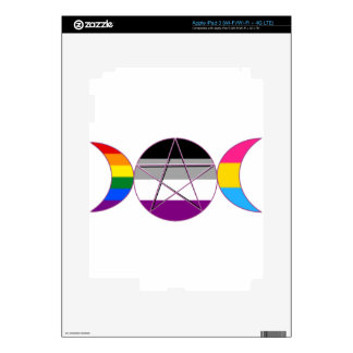Gay Pride Demi Pan Goddess Symbol iPad 3 Skin