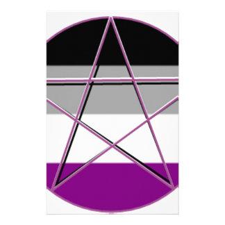 Gay Pride Demi Pan Goddess Symbol Stationery