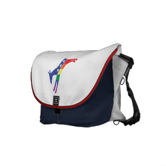Gay Pride Democrat Donkey Commuter Bags