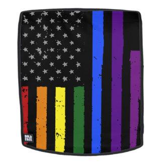 gay pride distressed american flag backpack