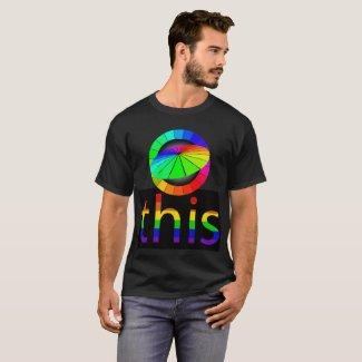 Gay PRIDE Diversity Rainbow Colors Artsy Tshirts