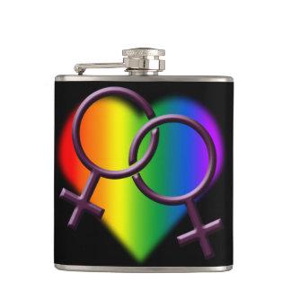 Gay Pride Drink Flask Same-Sex Love Flasks Gifts