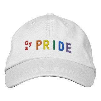 Gay Pride Embroidered Baseball Cap