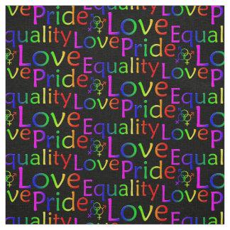 Gay Pride Fabric Rainbow Love Fabric Pride Fabric