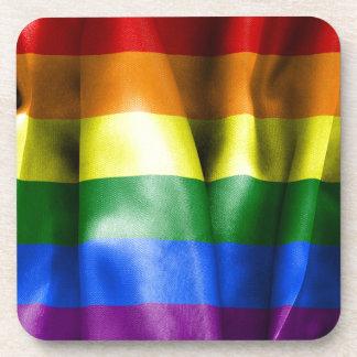 Gay Pride Flag Coaster