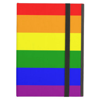 Gay Pride Flag Cover For iPad Air