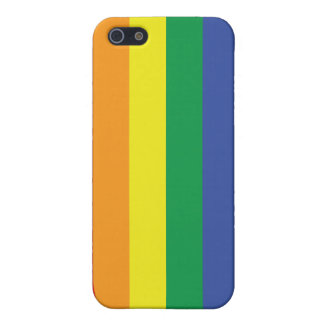 Gay Pride Flag Cover For iPhone SE/5/5s