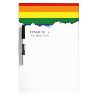 Gay pride Flag Dry-Erase Board