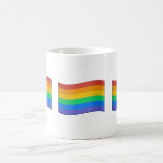GAY PRIDE FLAG EMOJI MUG