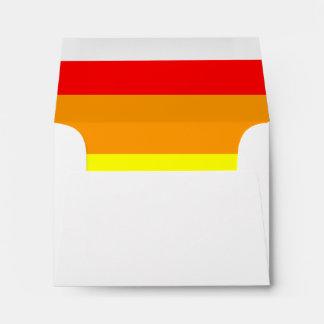 Gay Pride Flag Envelope