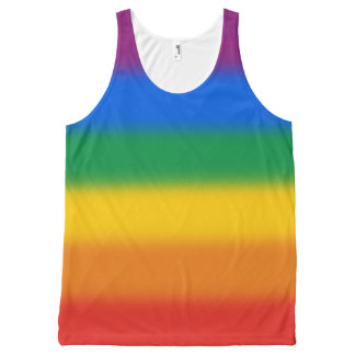 Gay Pride Flag All-Over Print Tank Top