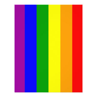 Gay Pride Flag / Rainbow Flag Flyer