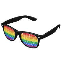 Gay Pride Flag Retro Sunglasses