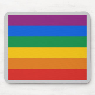 Gay Pride Flag T-shirt Mouse Pad