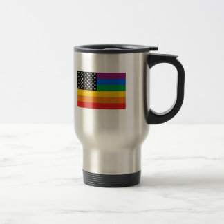 Gay Pride Flag Travel Mug