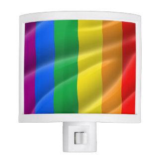 GAY PRIDE FLAG WAVY DESIGN - 2014 PRIDE NIGHT LIGHT