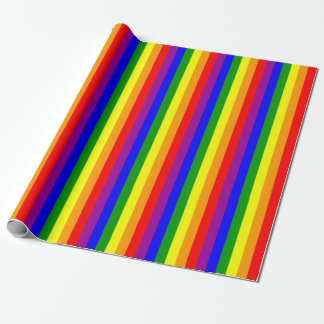 Gay Pride Flag Wrapping Paper