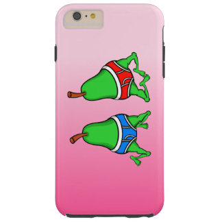 Gay Pride Funny Pears Dancing In Their Smalls Tough iPhone 6 Plus Case