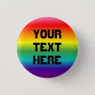 Gay Pride gradient Button