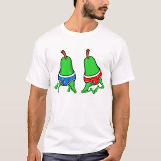 Gay Pride Happy Pair of Pears T-Shirt