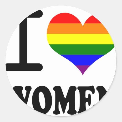 Gay Pride - I love my mate Classic Round Sticker