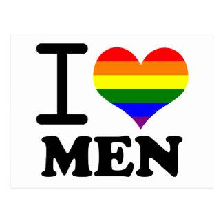 Gay Pride - I love my mate Postcard