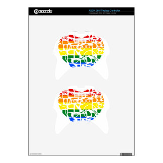 Gay Pride In All 50 States Xbox 360 Controller Skin