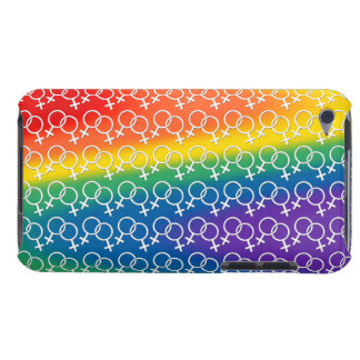 Gay Pride iPod Touch Case Rainbow LGBT Love Case