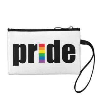 Gay Pride Key Coin Clutch