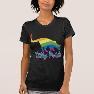 Gay Pride Kitty Cat T Shirt