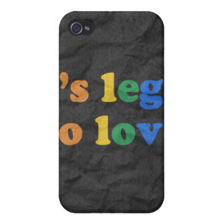 GAY PRIDE LEGAL LOVE iPhone 4/4S COVERS