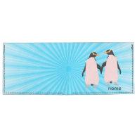 Gay Pride Lesbian Penguins Holding Hands Tyvek® Billfold Wallet