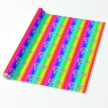 Gay Pride Lesbian Pentacle Handfasting Gift Wrap 4 Wrapping Paper