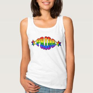 Gay Pride Logo Basic Tank Top
