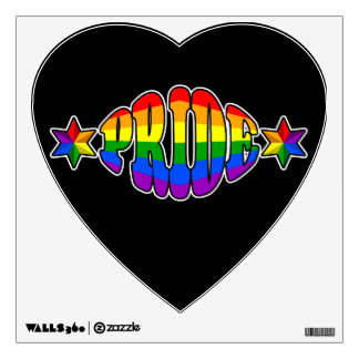 Gay Pride Logo Wall Decal