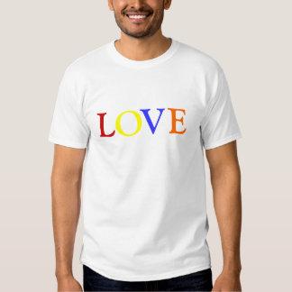 Gay Pride Love Heart T Shirt