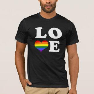 Gay Pride Love Heart T-Shirt