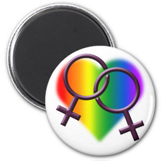Gay Pride Magnets Same-Sex Lesbian Love Gifts