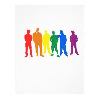 GAY PRIDE (men) Full Color Flyer