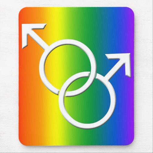 Gay Pride Mousepad Gay Pride Mousepads Decor Zazzle