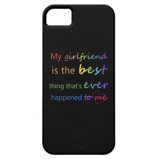 "Gay Pride - ""My girlfriend is"" iPhone SE/5/5s Case"