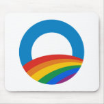 Gay Pride Obama Mouse Pad
