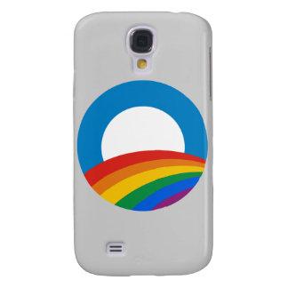 Gay Pride Obama T-shirt Samsung Galaxy S4 Cover