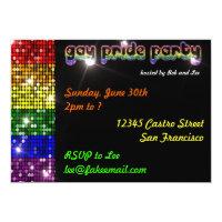 Gay Pride Party Invitations