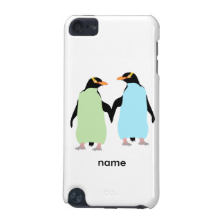 Gay Pride Penguins Holding Hands iPod Touch (5th Generation) Cover