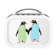 Gay Pride Penguins Holding Hands Yubo Lunchbox
