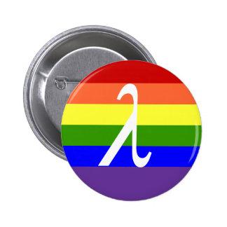 Gay Pride Pinback Button